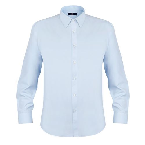 [06271] Camisa Oxford Light Manga Larga Hombre